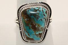 Boulder Turquoise Ring - BL3961 - SOLD
