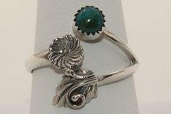 Fox Mine Turquoise Ring - R1202
