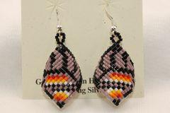 Navajo Beaded Earrings - ER855 - SOLD