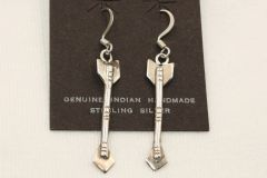 Sterling Silver Arrow Earrings - ER124 - SOLD