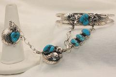 Turquoise Slave Bracelet - BR5972