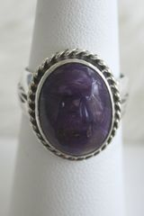 Charoite Ring - CH352 - SOLD