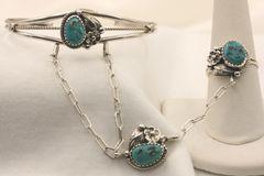Turquoise Slave Bracelet - BR4704