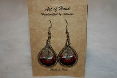 Peruvian Beaded Earrings - ER117