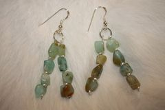 Peruvian Opal Earrings - SC112