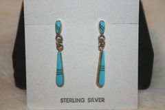 Turquoise Inlay Earrings - ER130