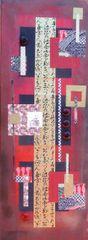 Kimono Mixed Media 9 x 24