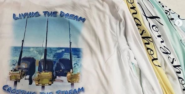 Custom sublimated shirts for a fishing team