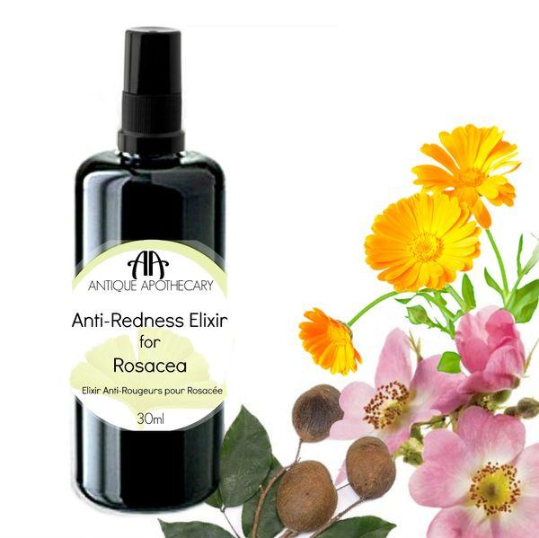 FACIAL OIL | ROSACEA SKIN CARE | Anti-Redness Elixir for Rosacea
