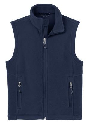 NCA Embroidered Fleece Vest