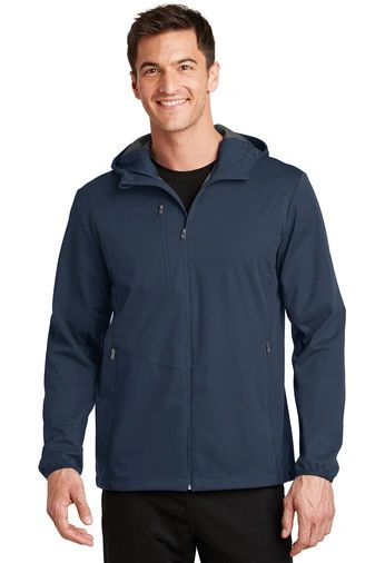 NCA Staff Men's Hooded Soft Shell Jacket