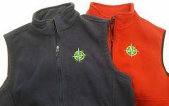 NCA Staff Adult Compass Fleece Vest