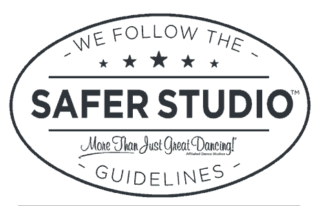 Safer Studio More than just Great Dancing logo.