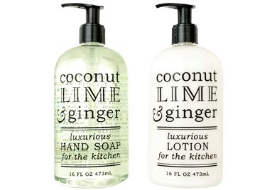COCONUT, LIME & GINGER