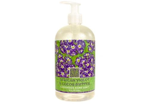 AFRICAN VIOLET & COCOA BUTTER LIQUID SOAP 16oz