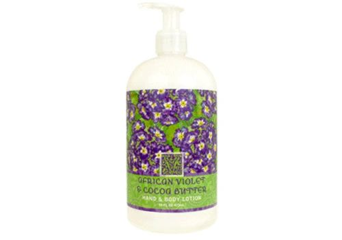 AFRICAN VIOLET & COCOA BUTTER LOTION 16oz
