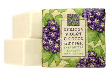 AFRICAN VIOLET & COCOA BUTTER 10.5oz