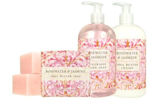 Bubbles Small Gift Set - Rosewater Jasmine