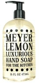MEYER LEMON LUXURIOUS HAND SOAP | For The Kitchen