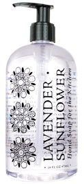 LAVENDER SUNFLOWER HAND SOAP   For The Kitchen
