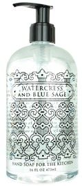 WATERCRESS AND BLUE SAGE HAND SOAP | For The Kitchen
