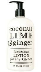 COCONUT, LIME & GINGER LOTION | For The Kitchen