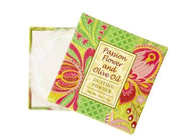 PASSION FLOWER AND OLIVE OIL DUSTING POWDER 4oz