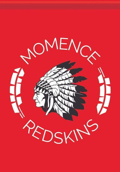 Momence Redskins Garden Flag