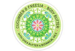 CUCUMBER & FREESIA BODY BUTTER