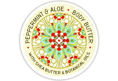 PEPPERMINT & ALOE BODY BUTTER