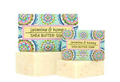 JASMINE & HONEY SOAP BLOCK 2 oz
