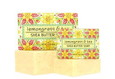 LEMONGRASS & TEA SOAP BLOCK 2 oz