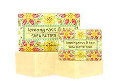 LEMONGRASS & TEA SOAP BLOCK 6.4 oz