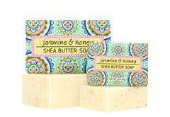 JASMINE & HONEY SOAP BLOCK 6.4 oz