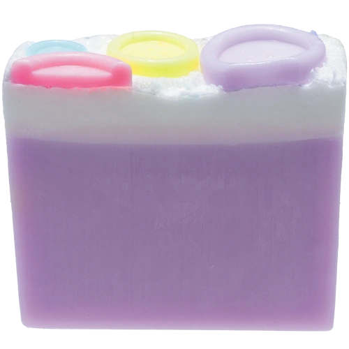 BUTTON BABE—Soap Slice