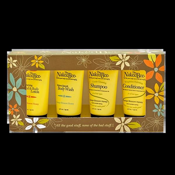 Orange Blossom Honey Travel Kit
