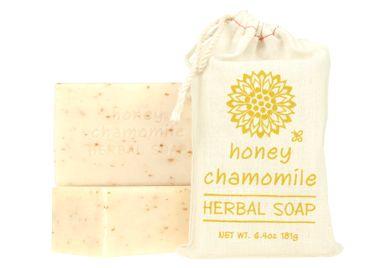 HONEY CHAMOMILE - HERBAL SOAP