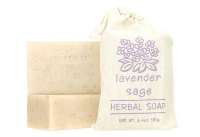 HERBAL SOAP - LAVENDER SAGE
