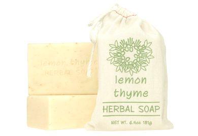 LEMON THYME - HERBAL SOAP