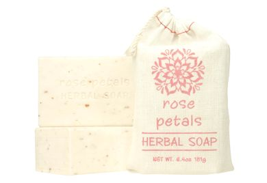 ROSE PETALS - HERBAL SOAP
