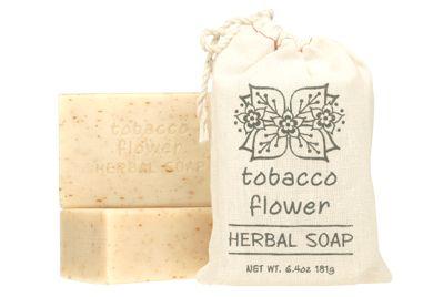 HERBAL SOAP - TOBACCO FLOWER