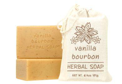 VANILLA BOURBON - HERBAL SOAP