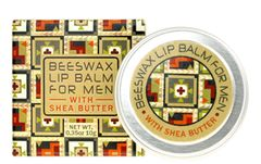 FOR MEN—Beeswax Lip Balm