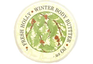 FRESH HOLLY BODY BUTTER 8oz