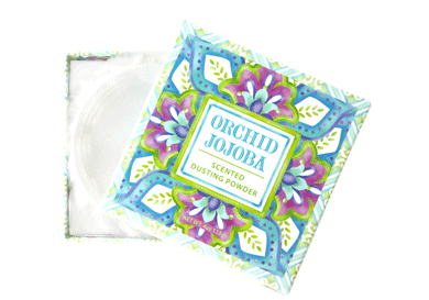 ORCHID JOJOBA DUSTING POWDER 4oz