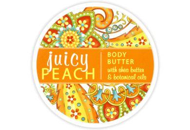 JUICY PEACH BODY BUTTER 8oz