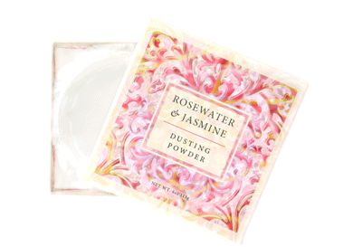 ROSEWATER & JASMINE DUSTING POWDER 4oz