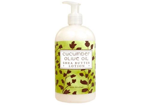 CUCUMBER OLIVE OIL LOTION 16oz