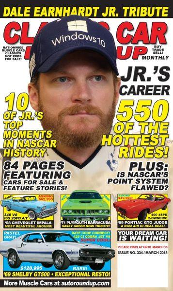 Dale Earnhardt Jr. Tribute Issue