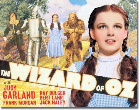 The Wizard of Oz Movie Vintage Metal Sign